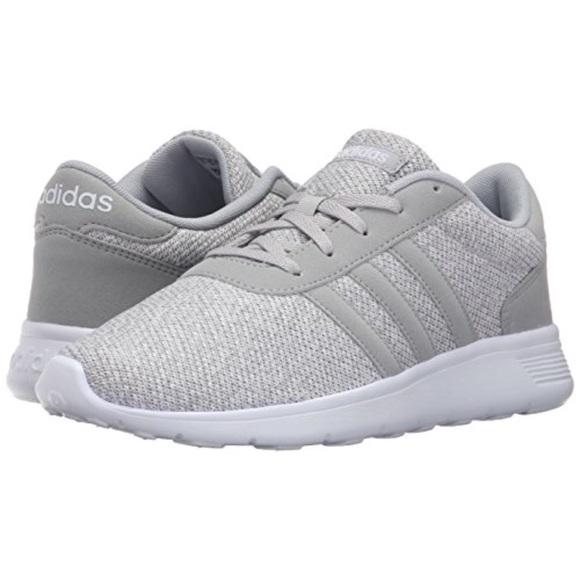 a1122b8d7d8 adidas Shoes - Adidas NEO Lite Racer Grey Cloudfoam Sneakers